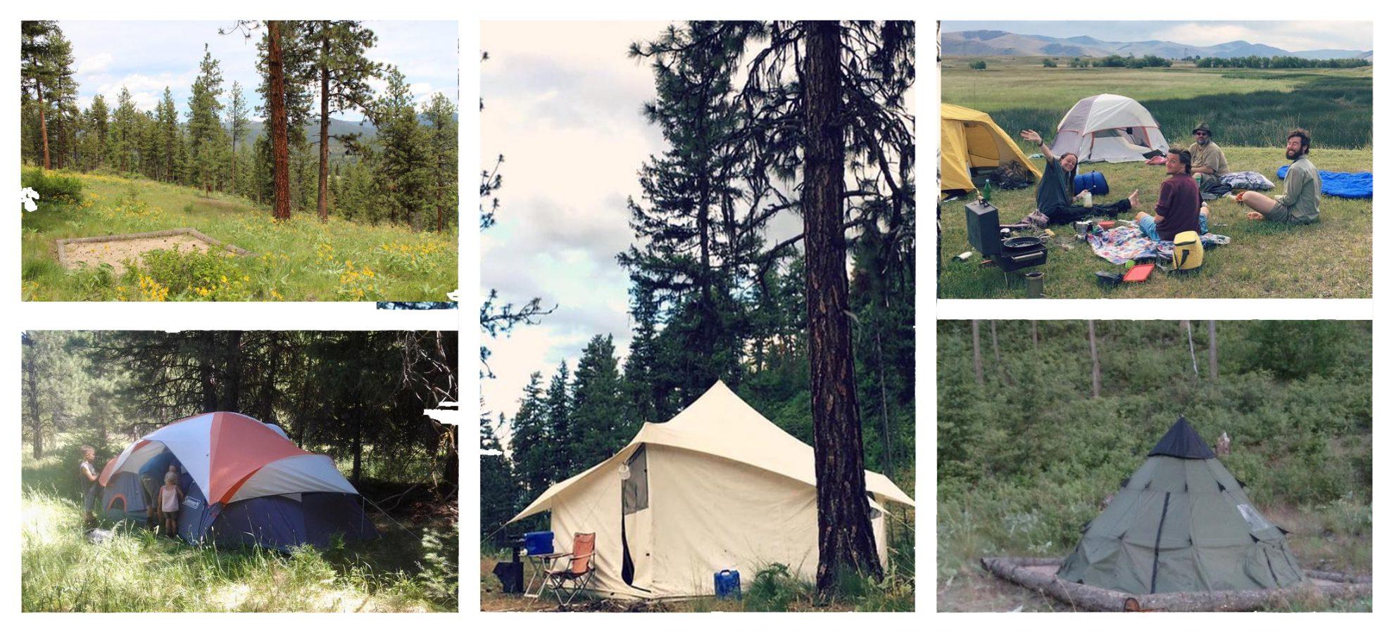 Tenting at Wheaton Labs vacation rentals