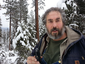 Paul wheaton in snow
