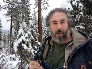 Paul wheaton in snow