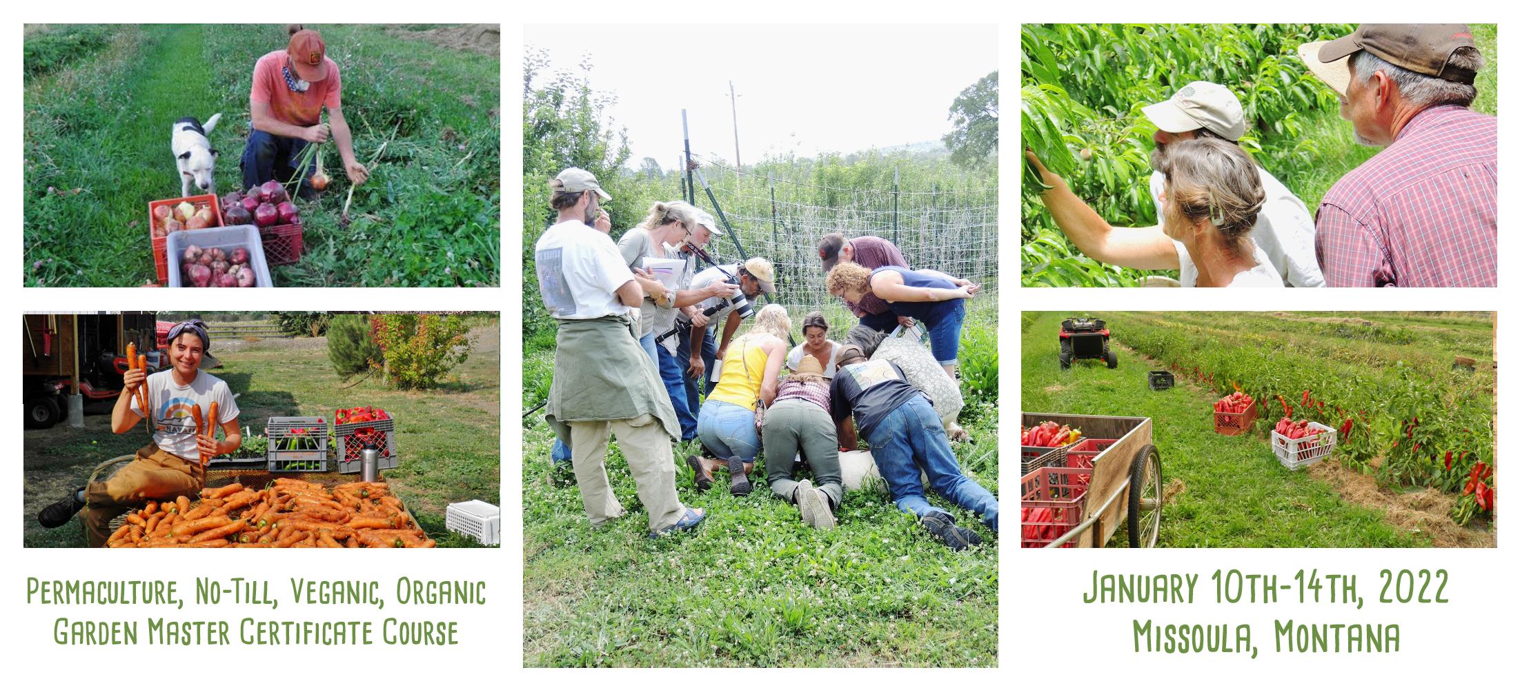 garden master course at Wheaton Labs Jan 10 through 14 2022